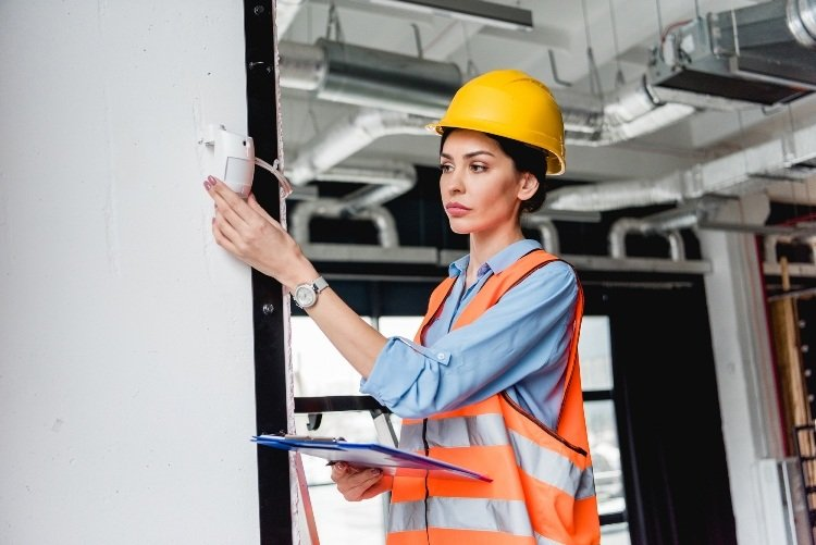 Women and fire and security roles